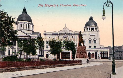 His Majesty's Theatre, Aberdeen - From a Postcard
