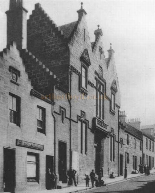 An early image of the Public Hall, Airdrie - Courtesy Graeme Smith.