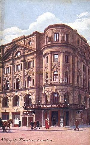 The Aldwych Theatre - From a period postcard.