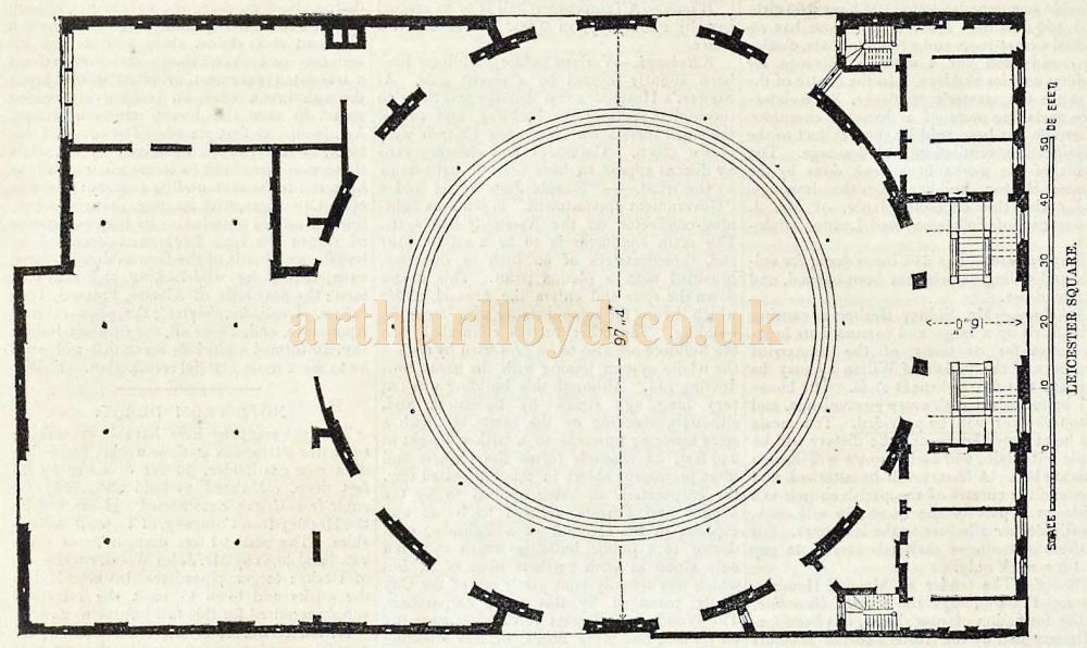 Plan of the Panopticon - From 'The Builder' Vol 9, December 1851