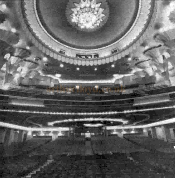 The Auditorium of the Apollo Victoria - From the Stage Newspaper, 11th December 1980.