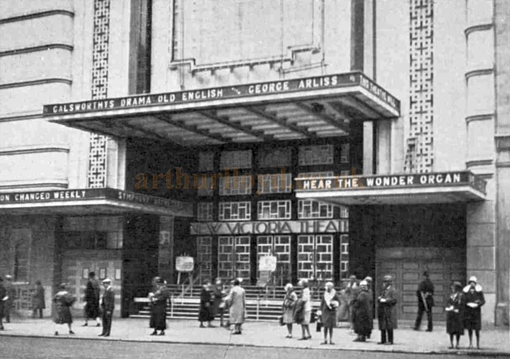 The New Victoria Theatre on its opening with the film 'Old English' - From The Sphere, 18th October 1930.