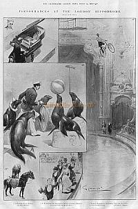 1902 article on the London Hippodrome from The Illustrated London News.