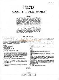 This page features details of the Empire Theatre in it's three major guises - 1884 - 1887 - 1962 - Click the image to view the page.