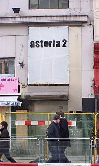 The Astoria 2 in January 2009, a nightclub which was originally a Ballroom situated in the basement of the Astoria Theatre. - Photo M.L 09.
