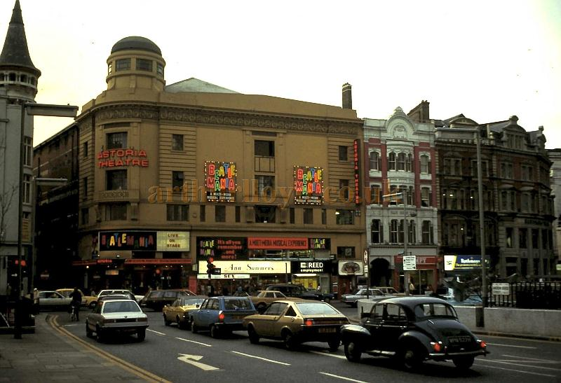 The Astoria Theatre during the run of 'Beatlemania' in 1979 - Courtesy Erwin Bouwmeester