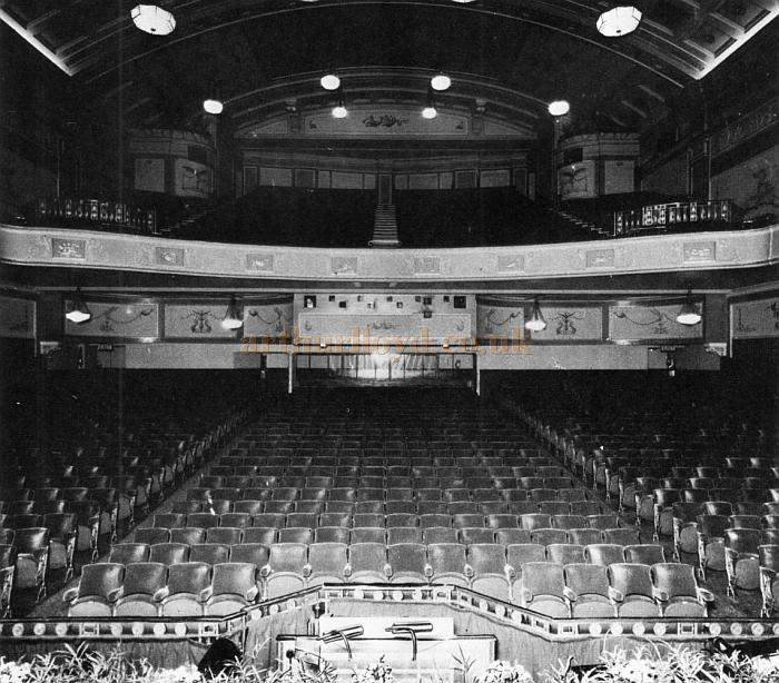The Astoria Theatre's auditorium - From the opening night souvenir programme for 'Elvis' on the 28th of November 1977