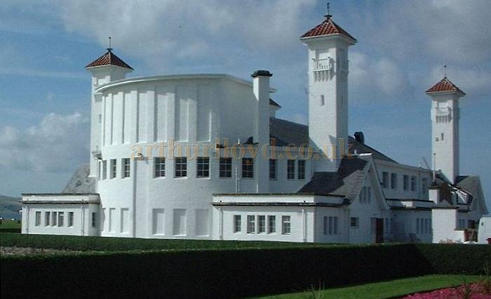 The Ayr Pavilion, showing the fly tower - Courtesy Graeme Smith.