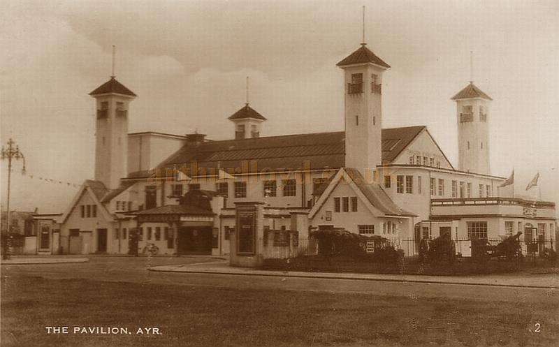 The Pavilion, Ayr in the mid 1930s - Courtesy Graeme Smith.