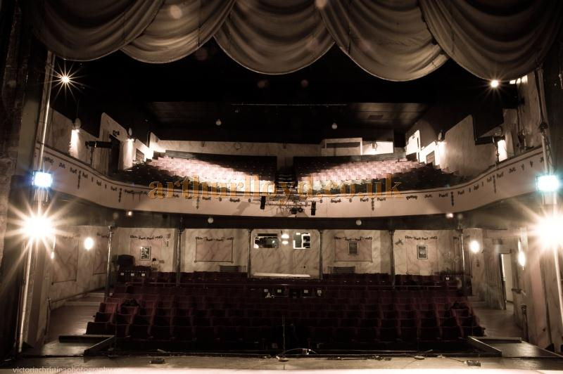 The auditorium of the Royal Court Theatre, Bacup - Photograph Victoria Christina - Courtesy Simon Parker, Bacup Amateur Operatic and Dramatic Society.