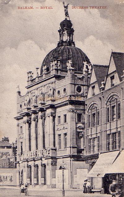 The Royal Duchess Theatre, Balham when it was known as the Duchess Palace - From a Period Postcard