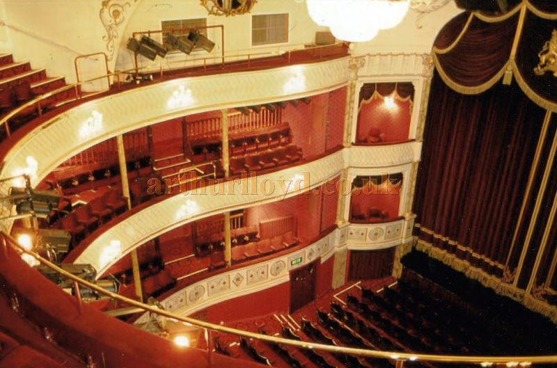 The auditorium of the Theatre Royal, Bath in 1991 - Courtesy Ted Bottle