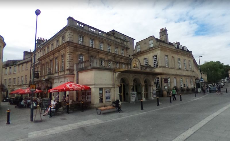 A Google StreetView Image of the Theatre Royal, Bath - Click to Interact.