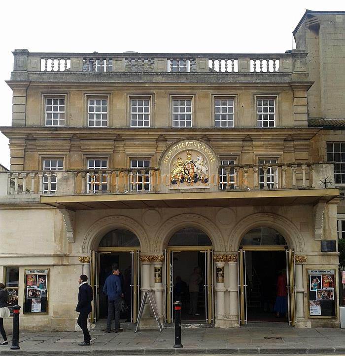 The Theatre Royal, Bath in March 2013 - Courtesy Piers Caunter
