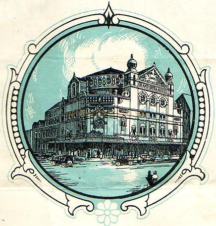 The Grand Opera House, Belfast - From a 1943 Programme.