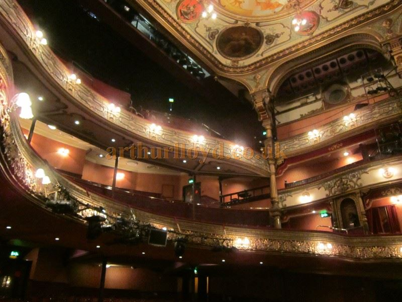 The Auditorium of the Grand Opera House, Belfast in June 2016 - Courtesy David Garratt