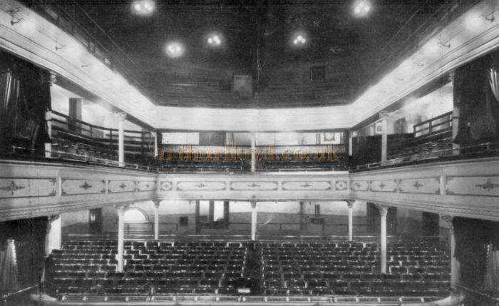 The Auditorium of the Argyle Theatre, Birkenhead in 1909