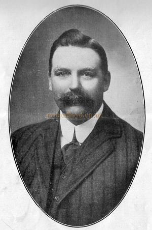 D. J. Clarke, sole proprietor and manager of the Argyle Theatre, Birkenhead. from 1888.