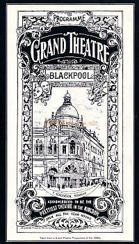 A programme for the Blackpool Grand Theatre