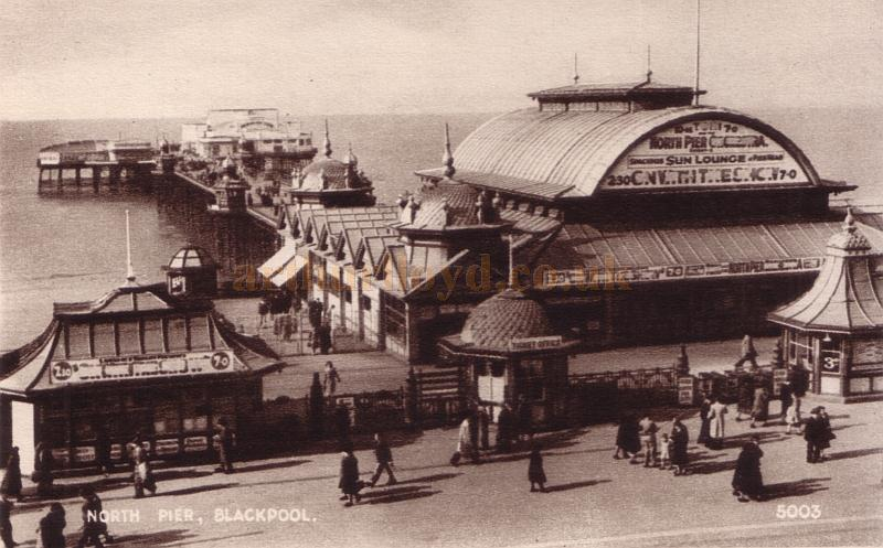 The North Pier And Pavilion Theatre Blackpool