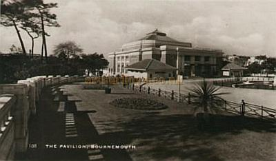 The Pavilion Bournemouth - From a postcard 1930