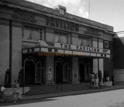 The Pavilion Theatre, Bournemouth during the run of 'Can-Can' on the 6th of August 1956 - Courtesy Gerry Atkins