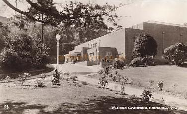 Winter Gardens Theatre Bournemouth - From a postcard