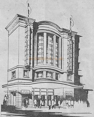The Imperial Theatre, Brighton  from a wartime programme