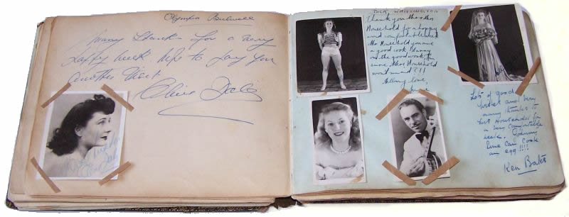 The Bulwell Olympia Guestbook