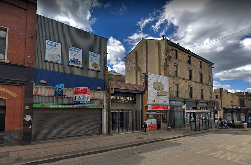 Theatres and Halls in Burnley, Lancashire