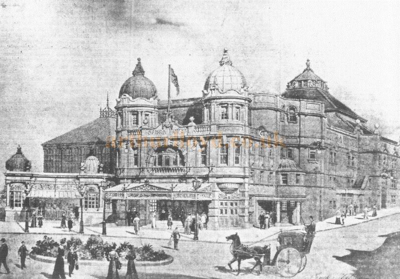 The Buxton Opera House when it first opened in 1903 - From the Theatre's centenary programme - Courtesy David Garratt