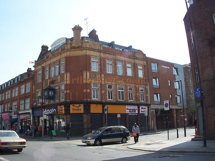The former Athenaeum Public House, Camberwell New Road, Camberwell - Photo M.L. April 2010