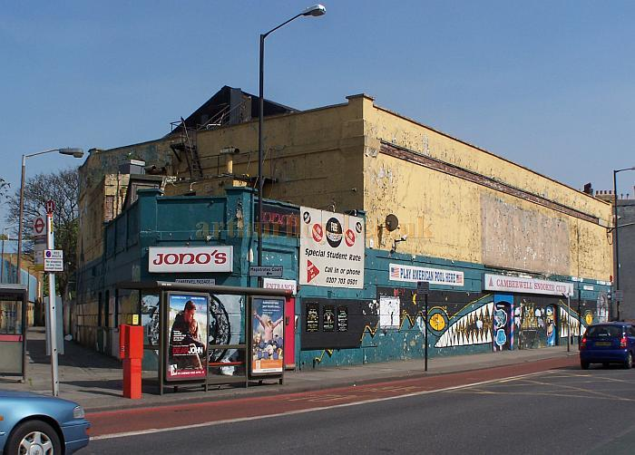 The former Grand Hall Cinematograph Theatre, Camberwell New Road - Photo ML April 2010