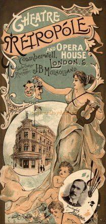 A Programme for the Metropole Theatre, Camberwell in 1897.