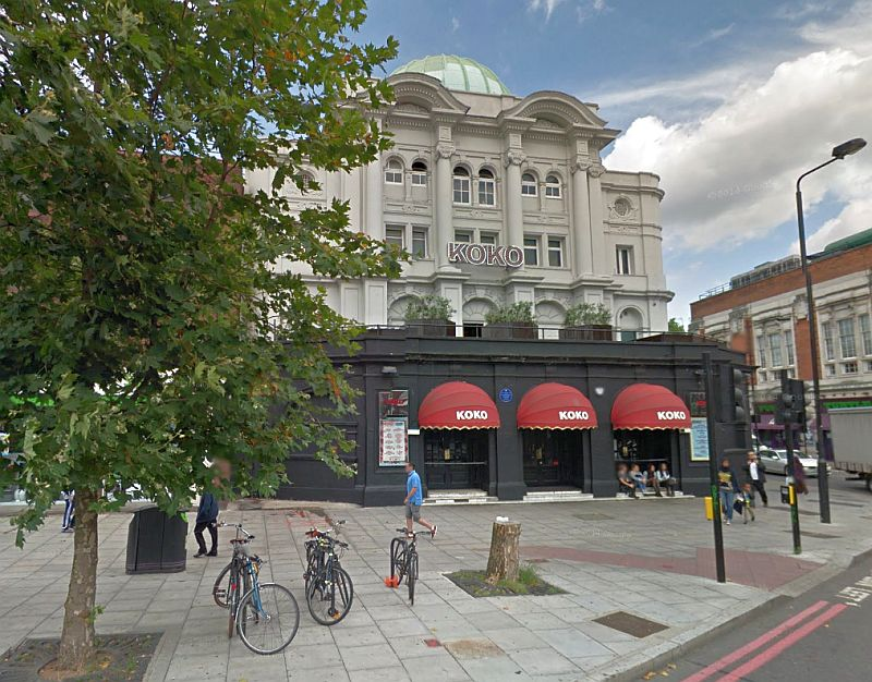 A Google StreetView Image of the former Camden Theatre, today known as Koko - Click to Interact