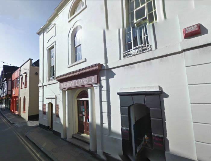 A Google StreetView Image of the former New Theatre / Theatre Royal, Canterbury - Click to Interact