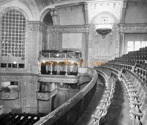 The Auditorium of the Capitol Theatre, Haymarket - From The Cinema News and Property Gazette, February 19th, 1925