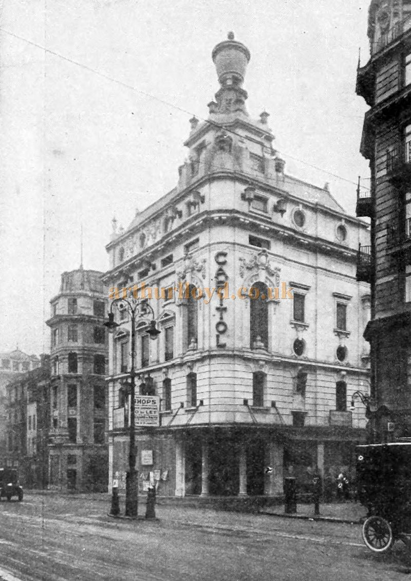 The Capitol Theatre, Haymarket - From The Cinema News and Property Gazette, February 19th, 1925