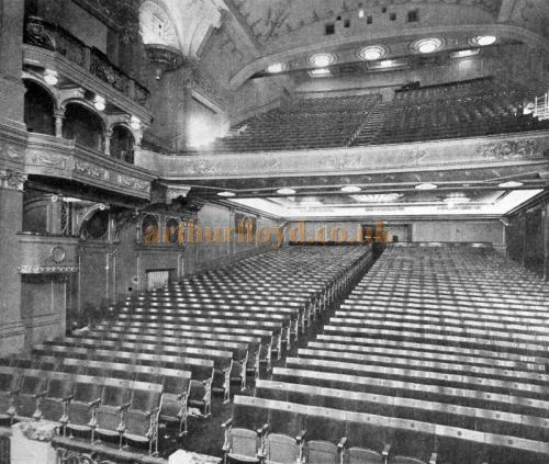The Auditorium of the former Capitol Theatre, Haymarket - From The Cinema News and Property Gazette, February 19th, 1925