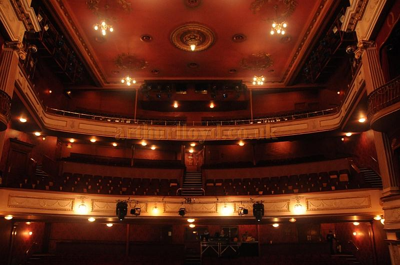 The auditorium of the New Theatre, Cardiff in 2011 - Courtesy Jenny Rowley