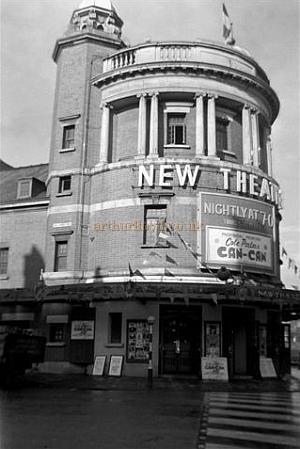 The New Theatre, Cardiff during the run of Can-Can on the 1st of November 1955 - Courtesy Gerry Atkins.