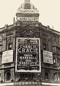 Charlie Gracie tops the Bill at the London Hippodrome - 1957