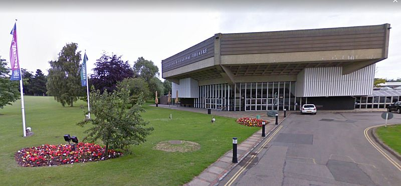 A Google StreetView Image of the Festival Theatre, Chichester - Click to Interact.