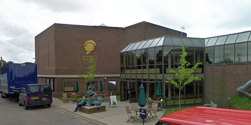 A Google StreetView Image of the Minerva Studio Theatre, Chichester - Click to Interact.
