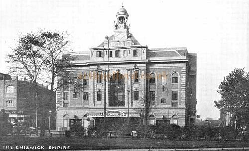 Chiswick Empire - From a postcard