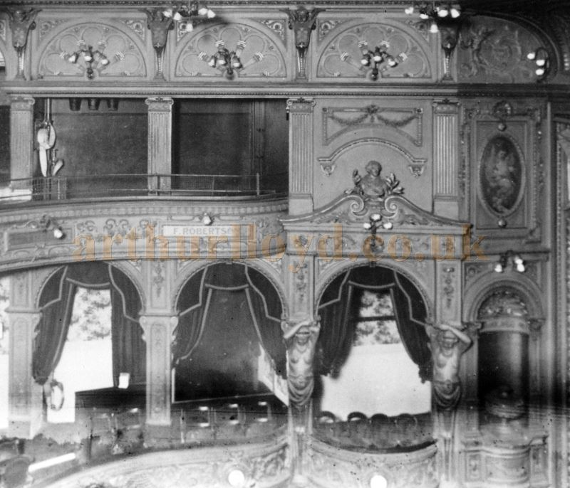 The auditorium of the Shakespeare Theatre, Clapham Junction shortly before it was taken over by UPT in 1928