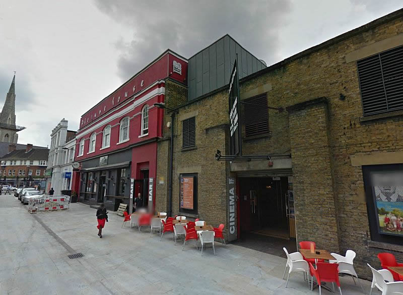 A Google StreetView Image of the Clapham Picture House - Click to Interact