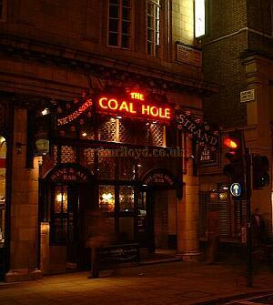 The present Coal Hole Public House - M. L. 2003