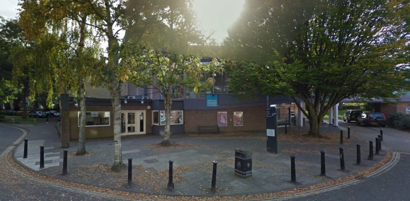A Google StreetView Image of the Mercury Theatre, Colchester - Click to Interact