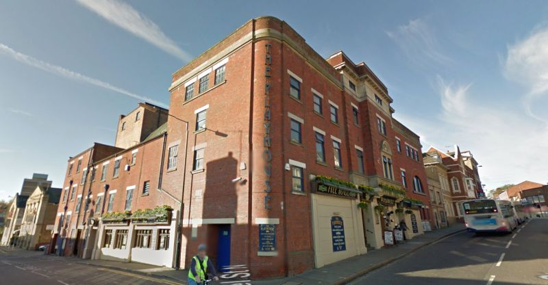 A Google StreetView Image of the former Playhouse Theatre, Colchester - Click to Interact